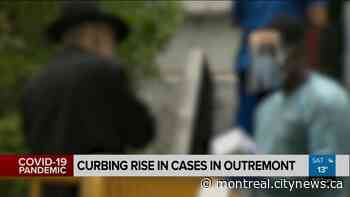 Curbing COVID-19 cases in Outremont - Video - CityNews Montreal