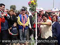Inauguran pistas, veredas y parque en AAHH Cruz de Motupe - SanJuandeLurigancho.com