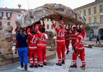 L'allestimento del Presepe a Busto Arsizio - VareseNews - Foto - Varesenews