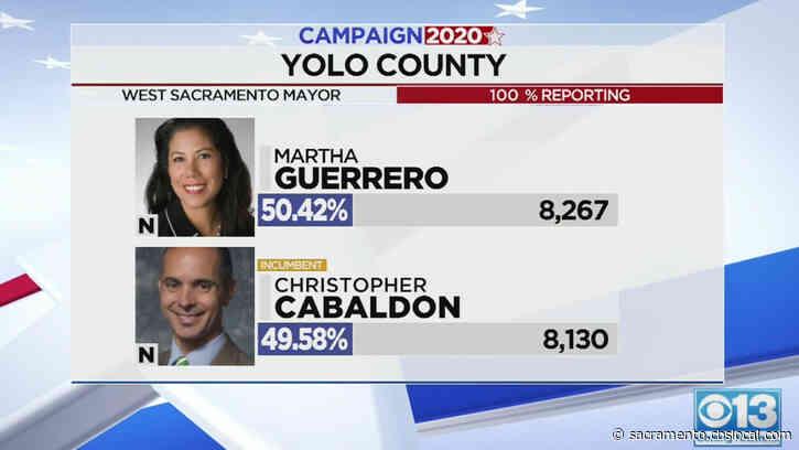 Race For West Sacramento Mayor Still Too Close To Call