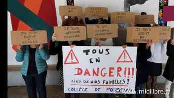Poussan : nouvelle journée de mobilisation des personnels au collège Via Domitia - Midi Libre