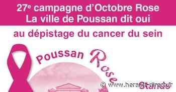 Poussan - La 27ème campagne d' Octobre Rose à Poussan : samedi 17 octobre - HERAULT direct