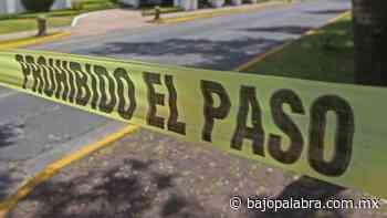 Aumentan los asesinatos en Morelos; matan a 2 en Emiliano Zapata - Bajo Palabra Noticias