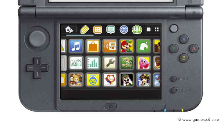 The Nintendo 3DS Has Received Its First Firmware Update In Nearly A Year