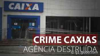 Bandidos explodem agência da Caixa em Duque de Caxias - G1