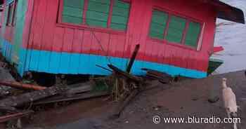 Impresionantes imágenes de la inundación que arrastró casas en Vigía del Fuerte, Antioquia - Blu Radio