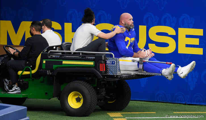 Rams think Andrew Whitworth can play again this season