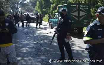 Asesinan a un hombre en la carretera Tenancingo-Villa Guerrero - El Sol de Toluca