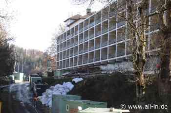 Vier- oder Fünfsterne Hotel: Abrissarbeiten an der ehemaligen Schlossbergklinik in Oberstaufen - Oberstaufen - all-in.de - Das Allgäu Online!