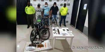 Capturan a tres presuntos integrantes de 'Los Carpinteros' en Guamal - Seguimiento.co