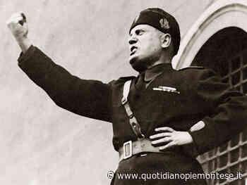 Scritte fasciste sui muri dei cippi dei partigiani a Lanzo Torinese - Quotidiano Piemontese