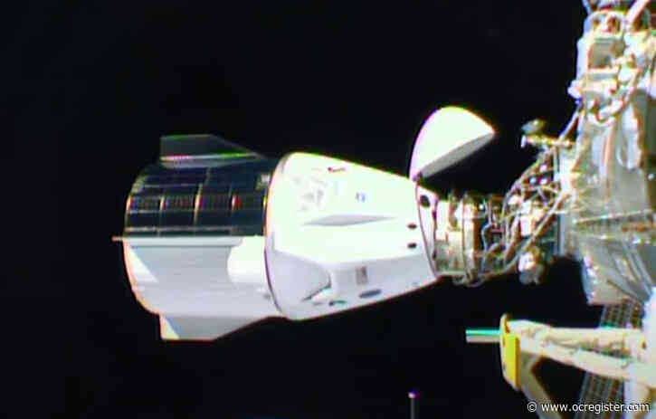 SpaceX's history-making Crew Dragon climbs aboard International Space Station