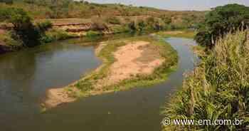 Corpo é encontrado no Rio das Velhas, em Matozinhos - Estado de Minas