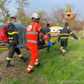 Elisoccorso a Passirano per un 56enne caduto nel bosco - Prima Brescia