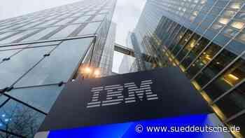 IBM soll technische Plattform für deutsche E-Rezepte bauen - Süddeutsche Zeitung