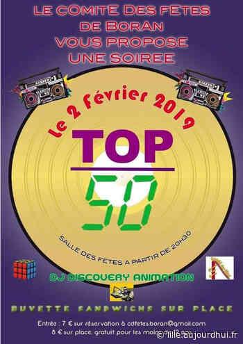 Soirée TOP 50 - Salle des Fêtes de Boran sur Oise, Boran sur Oise, 60820 - Sortir à Lille - Le Parisien Etudiant
