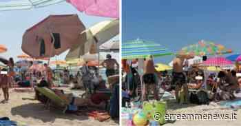 Porto Cesareo – località Torre Lapillo, nessun distanziamento nelle spiagge libere - ErreEmme News