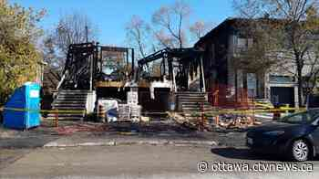 Fire spreads from home under construction to displace neighbours in Vanier - CTV News Ottawa