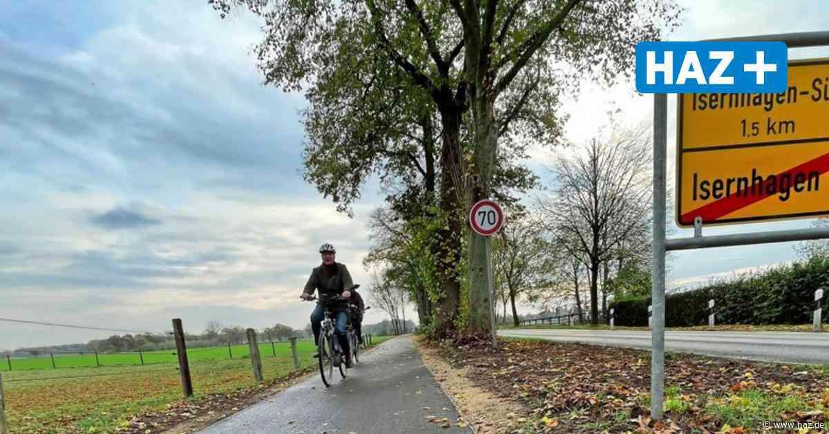Neuer Radweg entlang der L 381 zwischen N.B. und Hannover ist fertig - Hannoversche Allgemeine