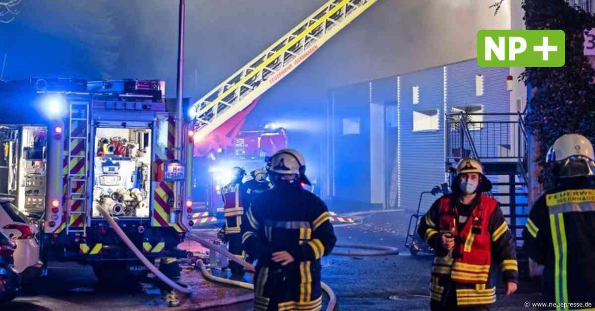 Feuer in Isernhagen N.B.: Polizei ermittelt Brandursache - Neue Presse