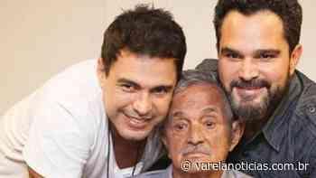 Pai de Zezé di Camargo e Luciano é internado em Goiania após dores no intestino - Varela Notícias