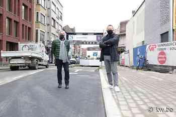 Parkeerplaatsen verdwijnen om file aan inrit K in Kortrijk te vermijden
