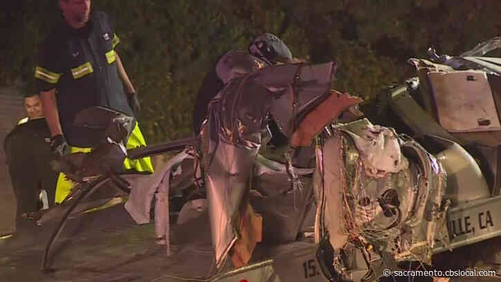 Car Split Into 4 Pieces, Driver Killed In Early Morning Crash On Elkhorn Boulevard