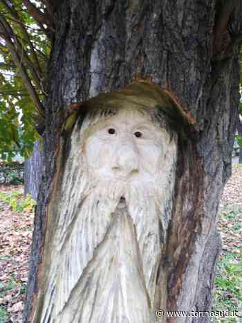 ORBASSANO - Gli alberi abbattuti diventano sculture di folletti e gnomi - TorinoSud