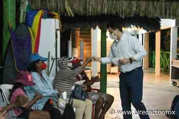 Entrega Carlos Fernández apoyos a comerciantes de Miramar - El Redactor de Soto la Marina