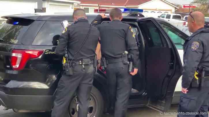Suspect In Stolen Car Arrested After Chase, Crash In Antelope