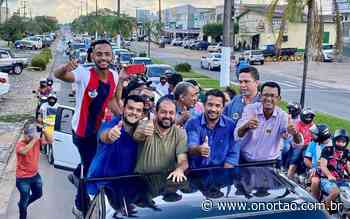 JI-PARANÁ: Laerte Gomes participa de carreata com Isaú Fonseca e Joaquim Teixeira, que agradecem votos recebidos - O Nortão Jornal