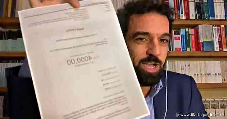 """Donazioni da lobbisti, l'autodifesa di Giarrusso: """"Contributo ricevuto dalle stesse persone che hanno finanziato il M5s nel 2018"""""""