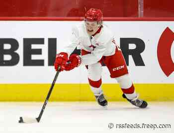 Detroit Red Wings' Jonatan Berggren tearing up Swedish League; 'game is in slow motion'