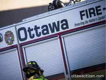 Deck fire in Manotick, chimney fire in Navan put out quickly - Ottawa Citizen