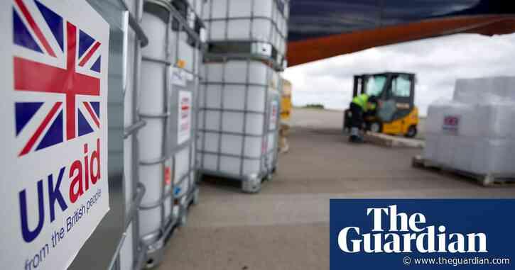 UK aid budget facing billions in cuts