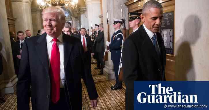 Obama scolds 'petulant' Trump but reveals conservative sympathies