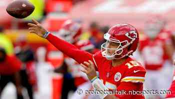 Patrick Mahomes overtakes Russell Wilson as MVP favorite