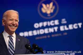 Joe Biden announces who will be in his White House team