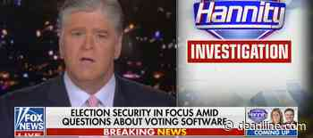 Deadline Now: Sean Hannity's Report On Alleged Voting Irregularities Is Itself a Little Irregular - Deadline