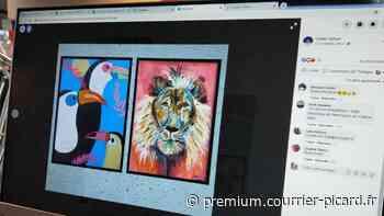 Des jeunes artistes de Corbie s'affichent en ligne - Courrier picard