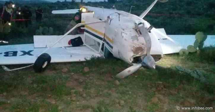 Avioneta se precipitó a tierra en zona rural de Mitú - infobae