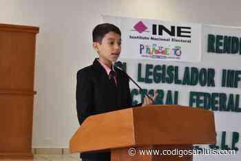 ¡Ya basta de crímenes, secuestros y extorsiones!: legislador infantil de Matehuala - Código San Luis