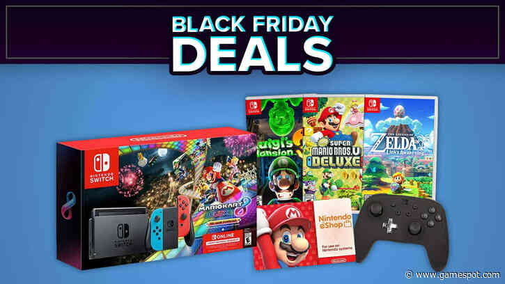 Best Black Friday 2020 Nintendo Switch Deals: Games, Console Bundle, And More