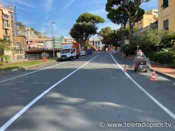 Recco, nuova segnaletica in Largo dei Mille e via Milano - Teleradiopace