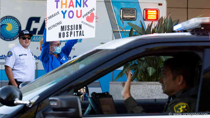 Mission Hospital staff make sure local first responders feel support