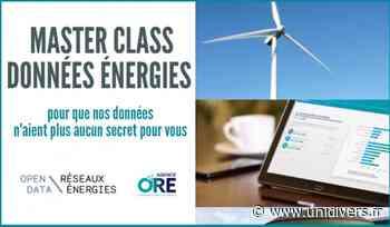 Master Class Données Énergies Webinaire Beaumont-Sur-Oise jeudi 12 novembre 2020 - Unidivers
