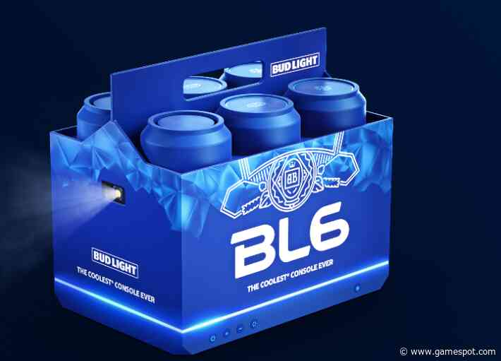 Bud Light Announces Its Own Next-Gen Console, And It Looks Incredible