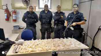 Sumidouro: Três presos com 840 sacolés de cocaína, maconha e dinheiro - Serra News