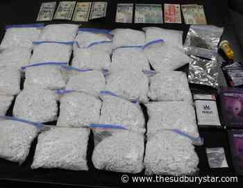 Drugs seized after driver flees crash