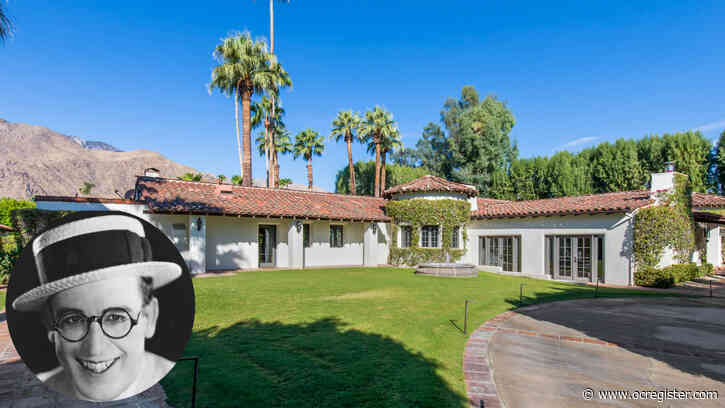 Silent film star Harold Lloyd's former Palm Springs home seeks $4.7 million